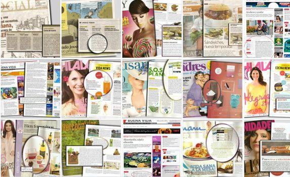 Jardin orgánico en diarios y revistas !
