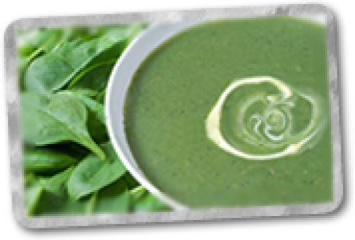 Sopa Crema de Espinaca