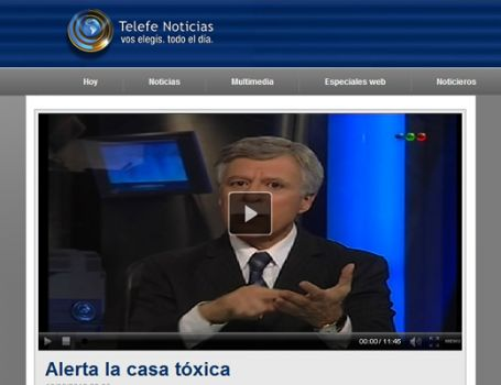 La Casa Tóxica -Telefe Noticias