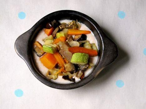 Crema de choclos (con salsa blanca liviana)