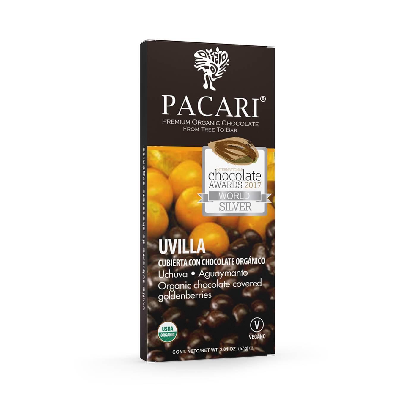 PROMO 50% OFF en 2da unidad  uvillas cubiertas de chocolate