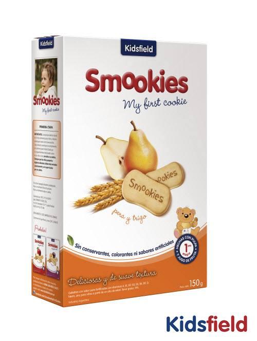 Galletitas smookies sin conservantes de pera y trigo