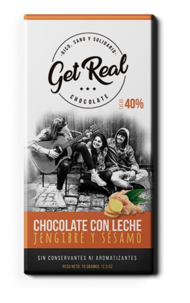PROMO! 50% OFF 2da unidad Chocolate con jengibre y sesamo
