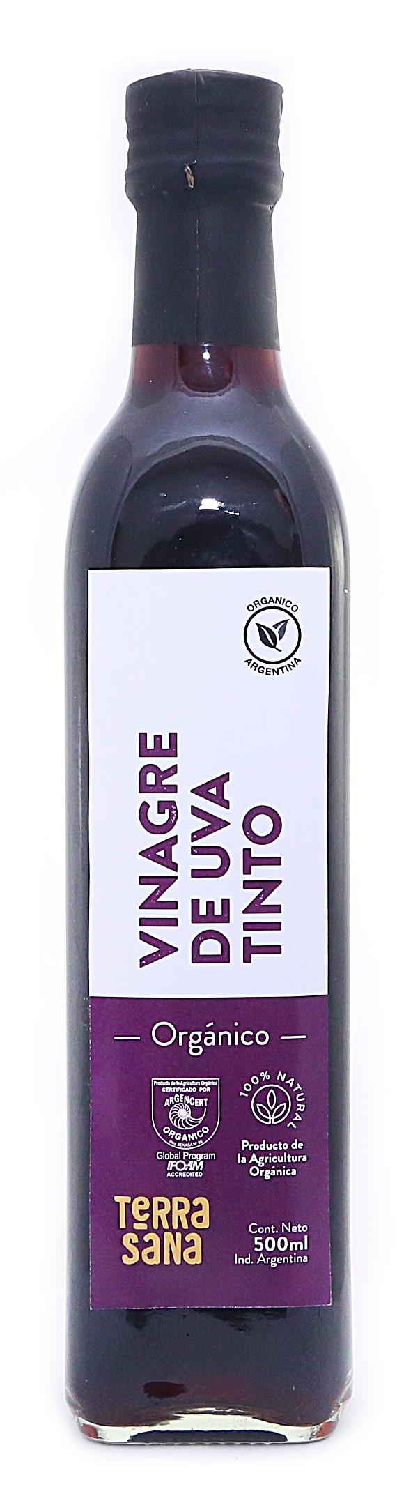Vinagre de uva tinto