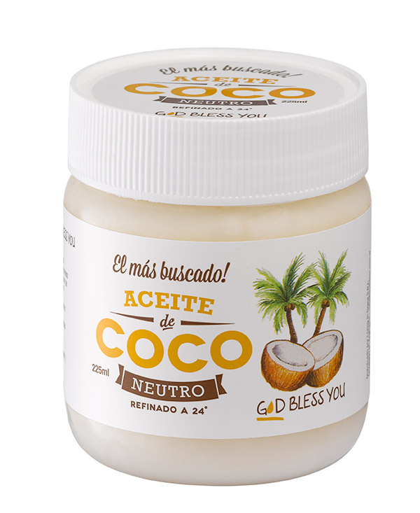 Aceite de coco neutro 225 ml