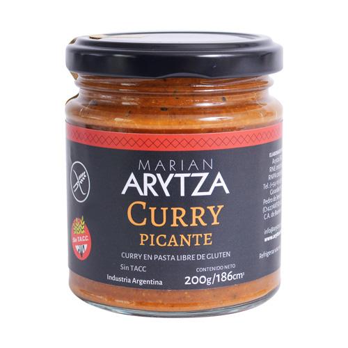 Curry en pasta picante
