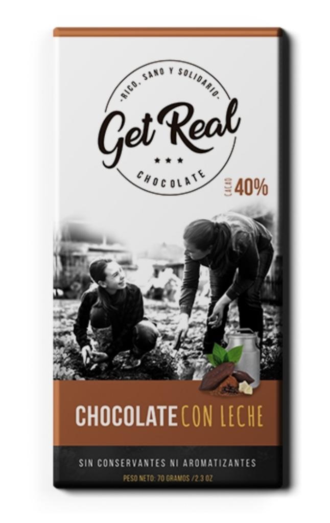 Chocolate con leche 40% cacao