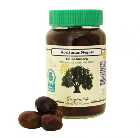 Aceitunas negras 225 gr El Renuevo