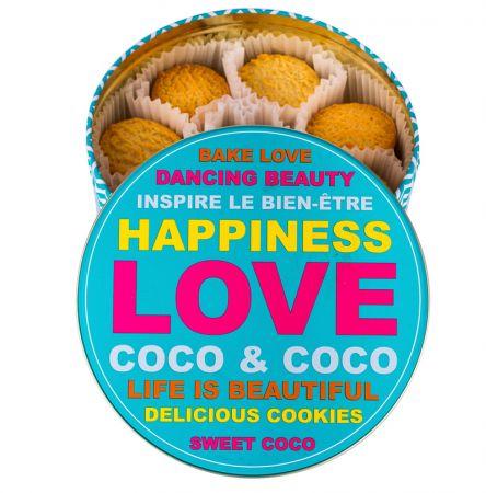 2x1 Lata butter cookies de coco