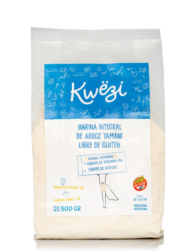 Harina integral de arroz yamaní