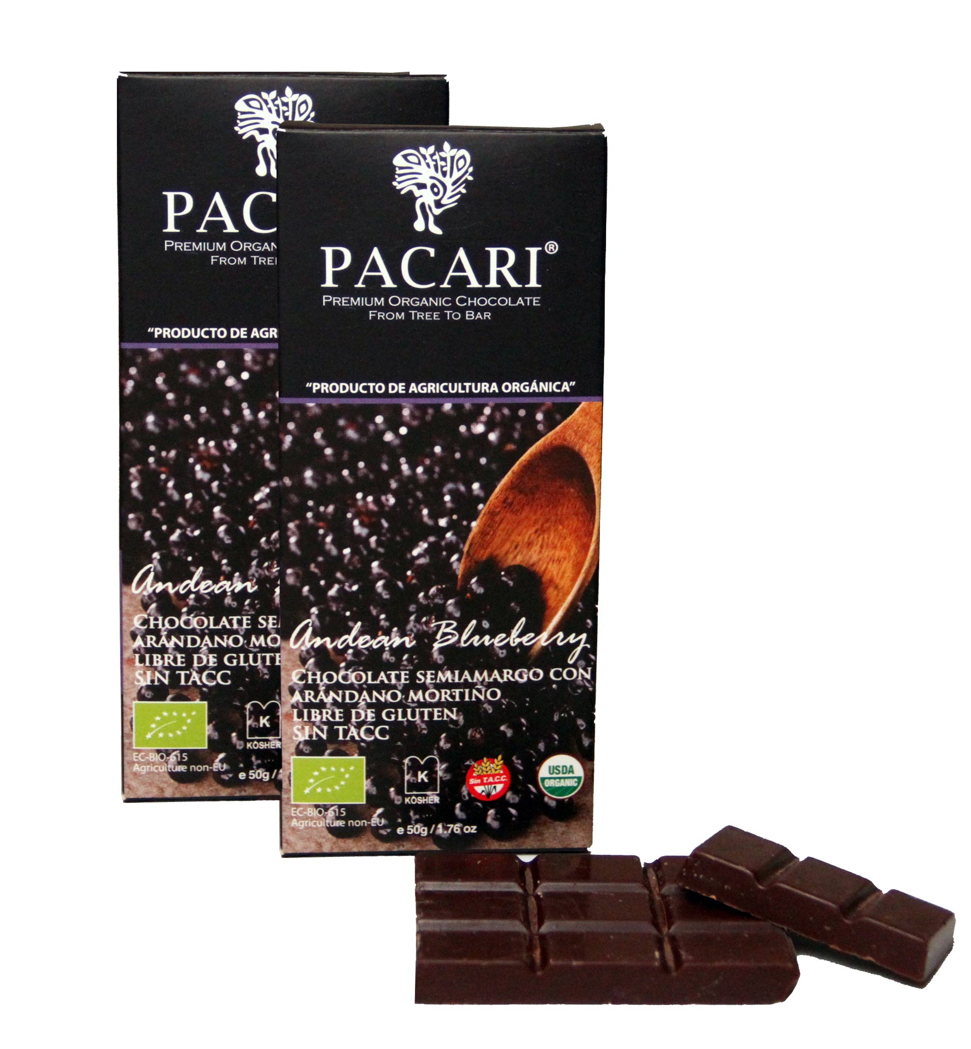 PROMO! Chocolate barra blueberry 35% off en la segunda unidad