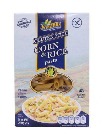 Penne rigate de maíz & arroz