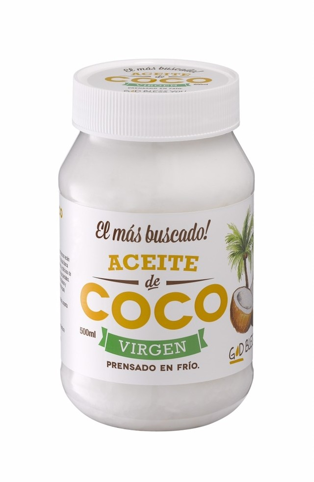 Aceite de coco virgen 500 ml