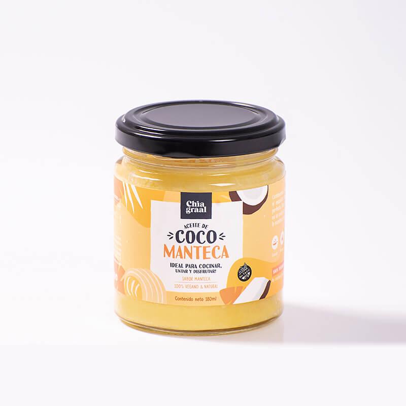 Aceite de coco neutro sabor manteca