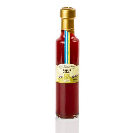Aceto de arándanos con vinagre de manzana