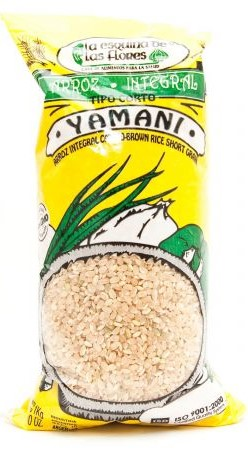 Arroz integral yamaní