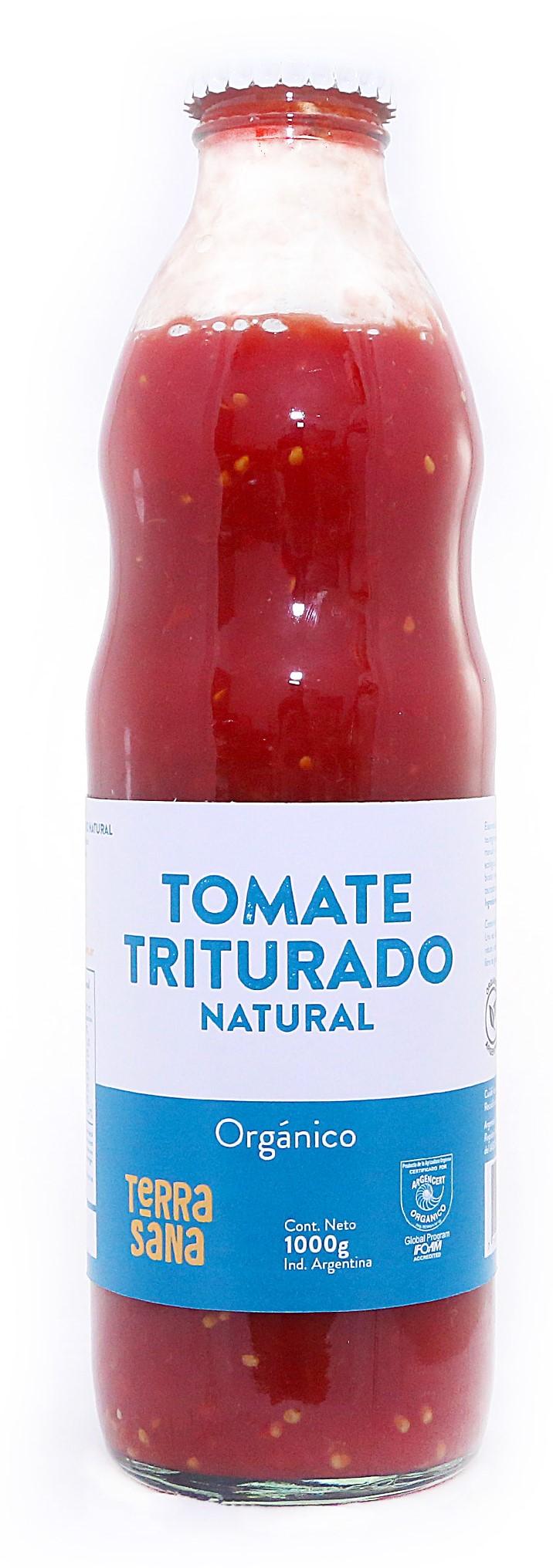 Salsa de tomate triturado