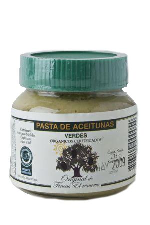 Pasta aceituna verde 235 Gr El Renuevo