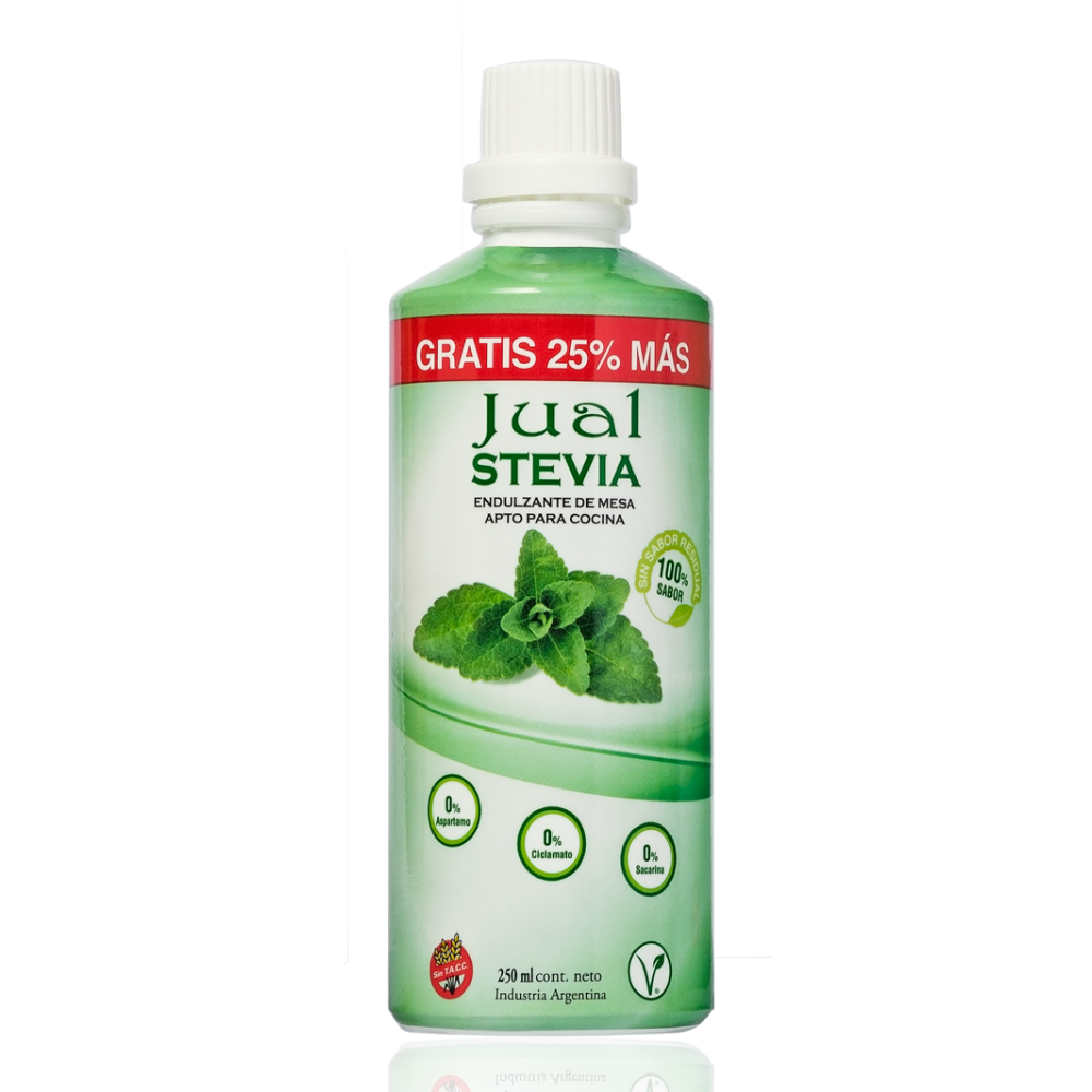 Edulcorante stevia 250 ml