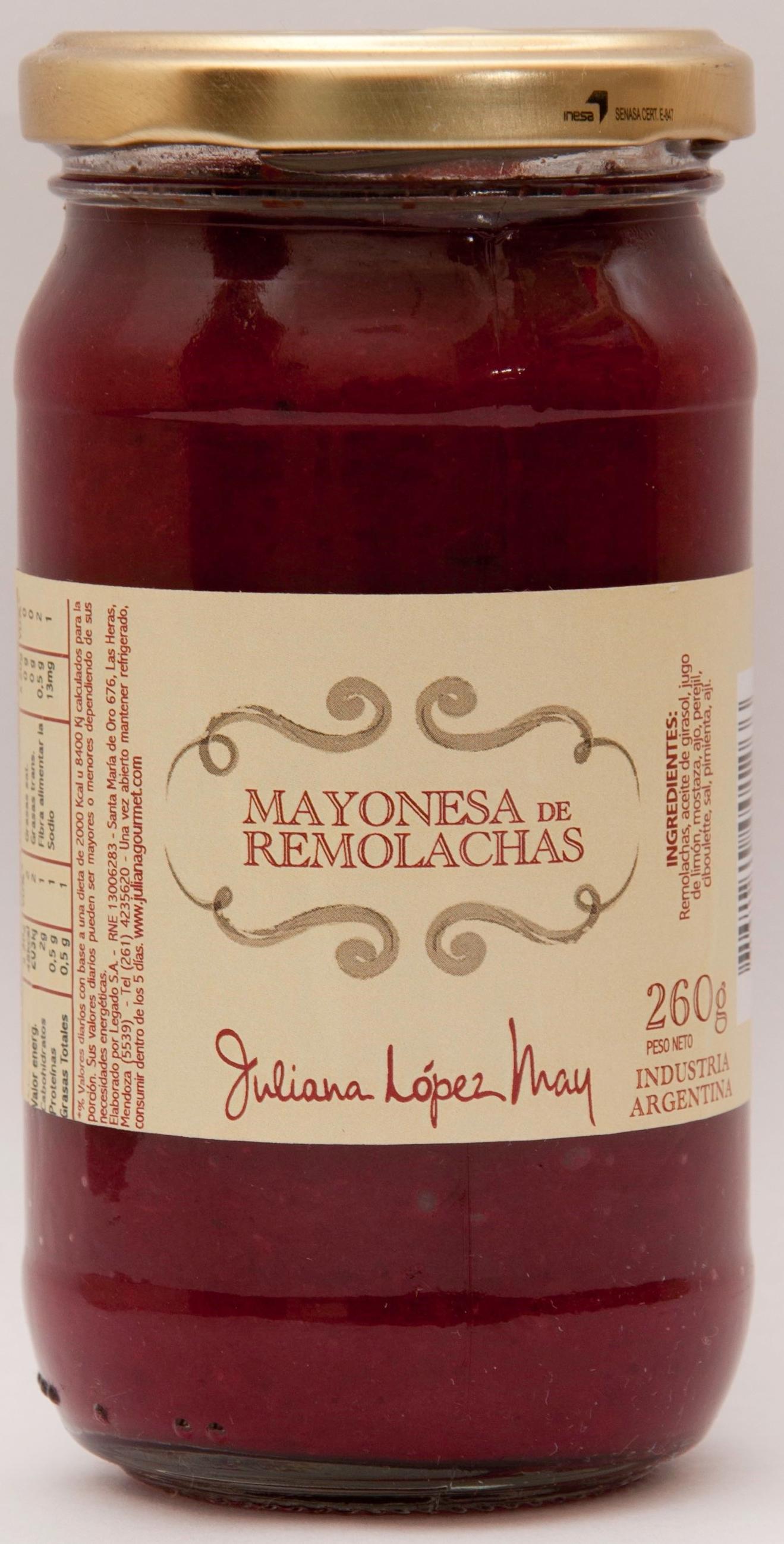 Mayonesa de remolachas