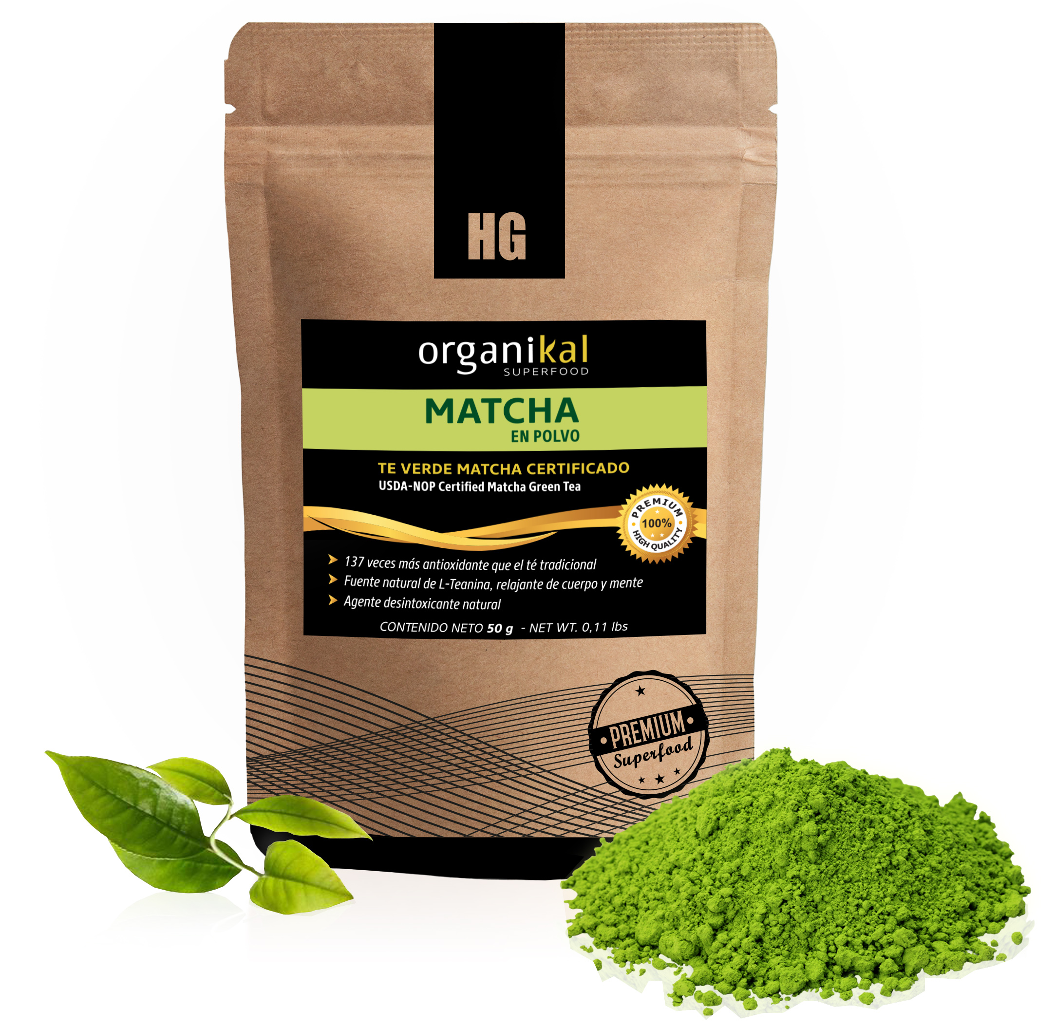 Superfood Matcha  en sobre