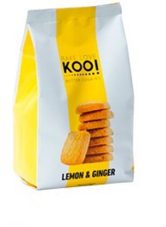 Butter cookies lemon & ginger