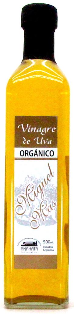 Vinagre de uva blanco Anahata