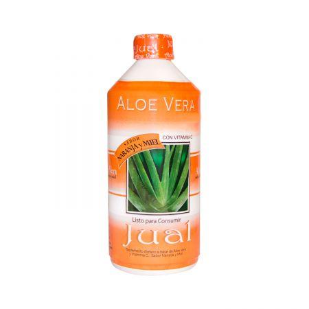 Jugo aloe vera sabor naranja y miel 500 ml