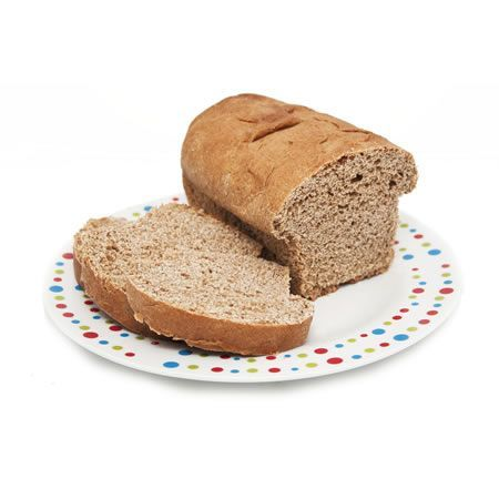 Pan molde de salvado grande