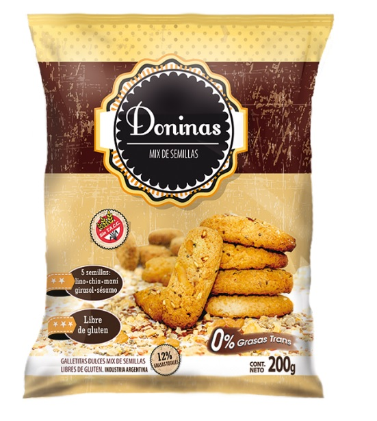 Galletitas mix de 5 semillas