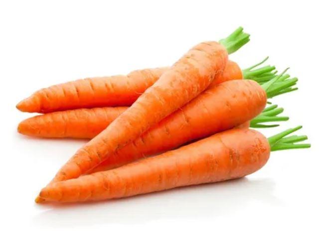 Zanahoria sin hojas